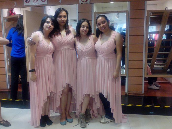 Vestido Para Damitas Foro Moda Nupcial Bodascommx