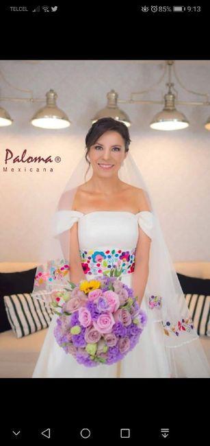 Vestido Novia Bordado Mexicano Foro Moda Nupcial Bodas