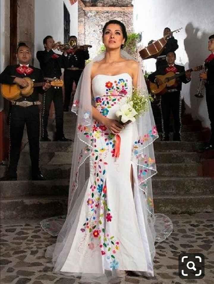 Vestido de novia mexiacno - 3