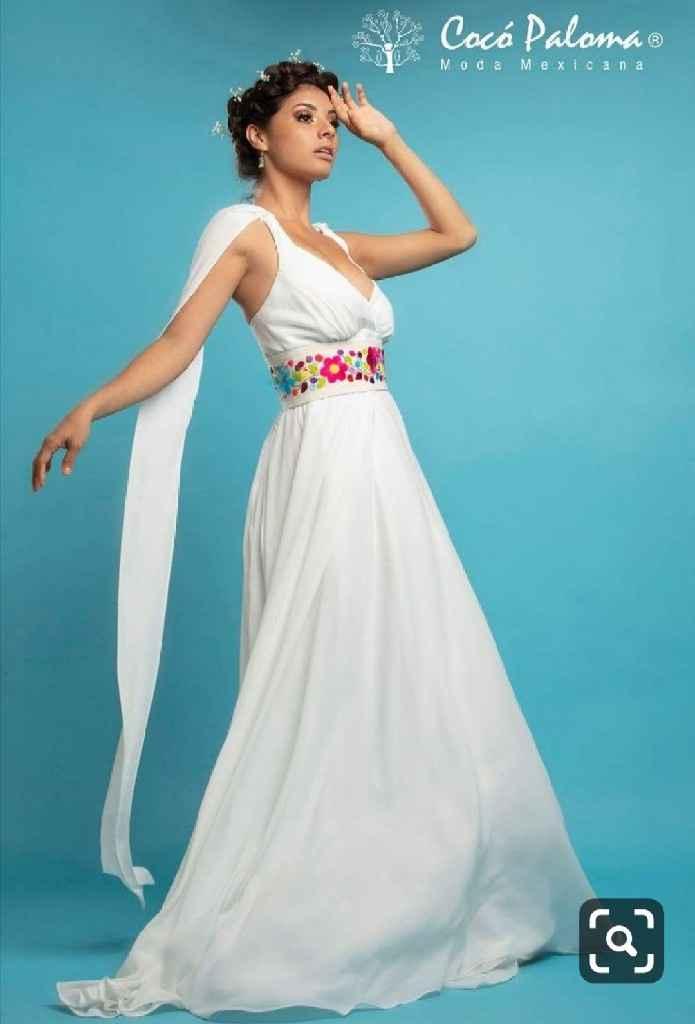 Vestido de novia mexiacno - 5
