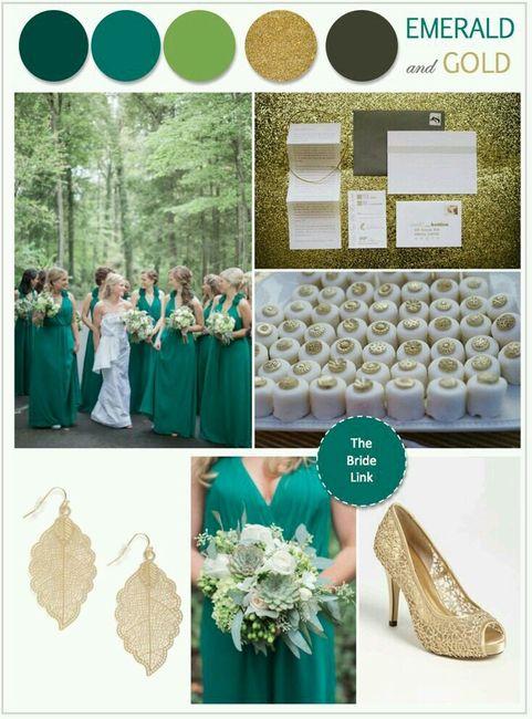 """decoración de boda en color """"verde esmeralda"""" - foro organizar una"""