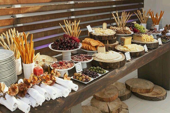 Wedding Food Ideas Get Creative I Do Knot: Mesa De Quesos Y Carnes Frías