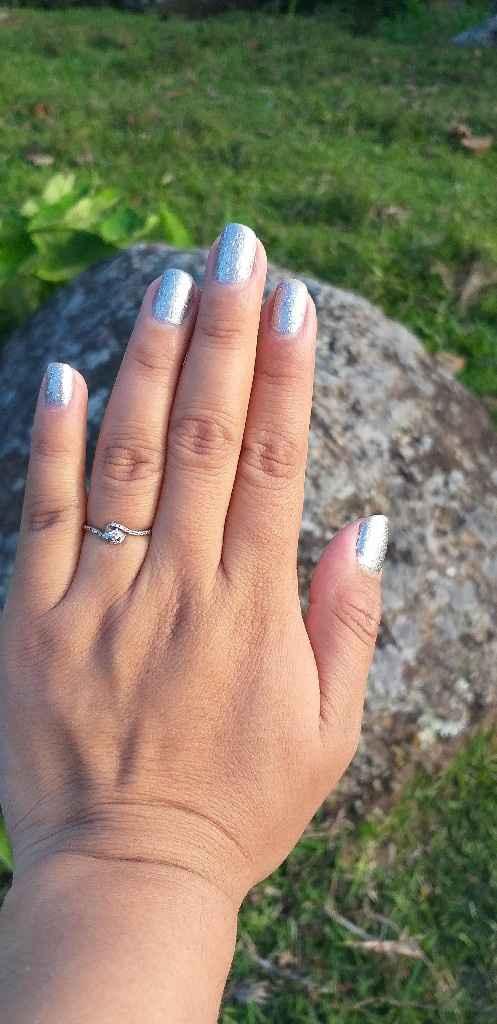 Muestra el anillo - 1
