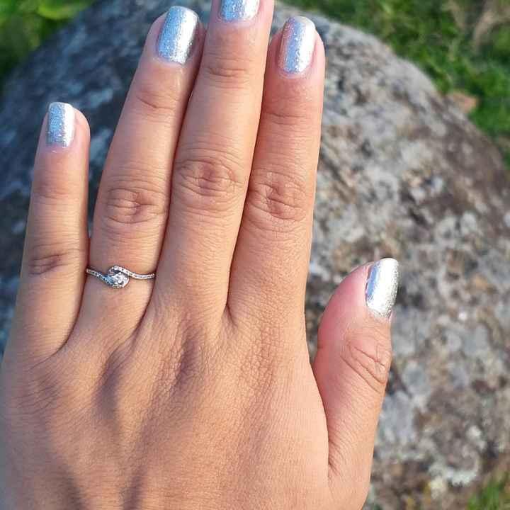 Les gustó su anillo de compromiso? - 1
