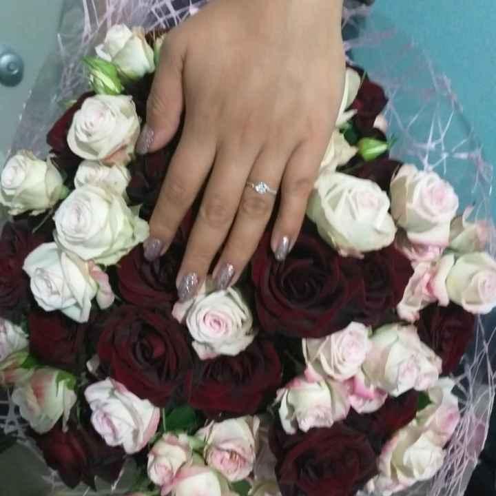 Mi anillo de compromiso,  Marce - 1