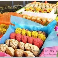5. Mesa de pan dulce y dulces mexicanos