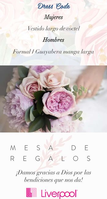 Página web para la boda. - 2
