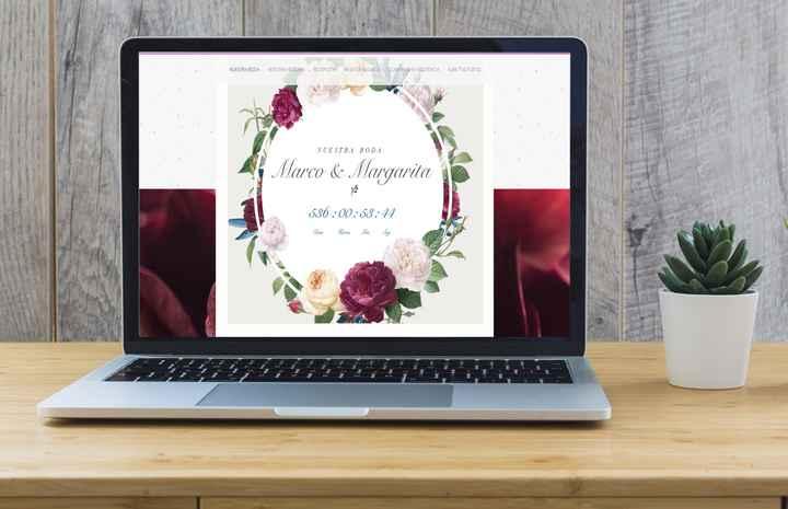 Página web para la boda. - 5