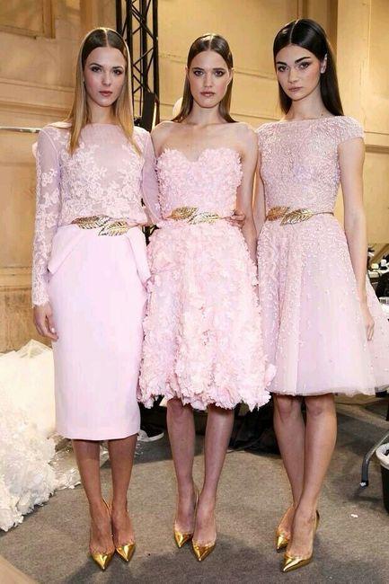 Vestidos Damas Rosa Pastel Foro Organizar Una Boda