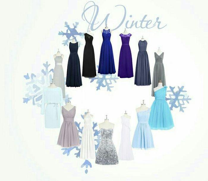 cfcd3f0f43 Color para vestidos de dama en invierno - Foro Moda Nupcial - bodas ...