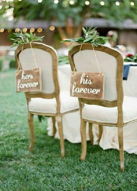 Decoraci n de sillas para novios foro manualidades para for Sillas para matrimonio