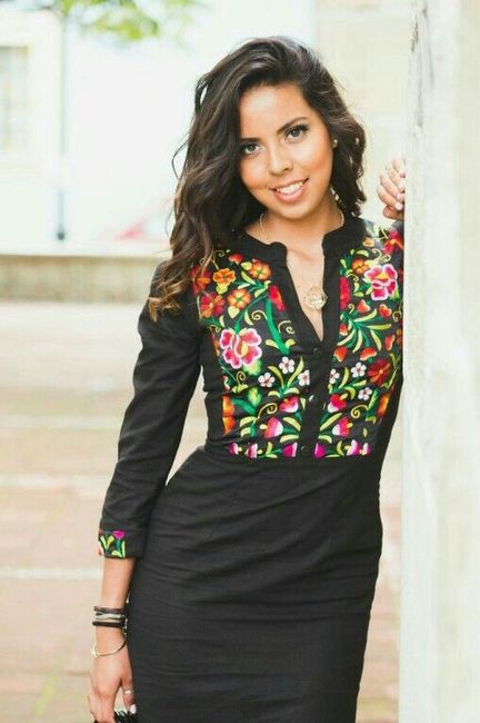 incredible outfit vestido mexicano