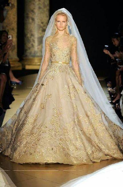 Vestidos De Novia Con Dorado Foro Moda Nupcial Bodascommx