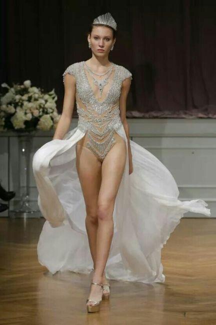 atrevidos vestidos de novia - foro moda nupcial - bodas.mx