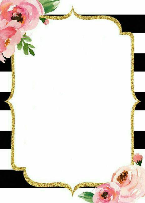 Plantillas para invitaciones 3 foro manualidades para bodas - Plantillas pared ...