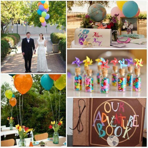boda temática up - foro organizar una boda - bodas.mx
