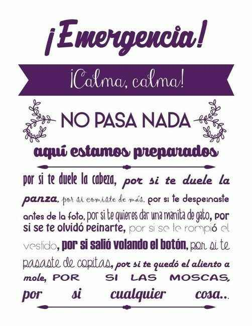 Kit de emergencia - 1
