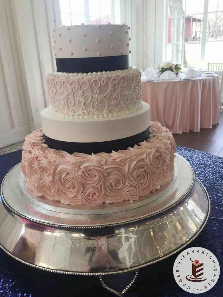 Pastel de boda 🎂 - 1