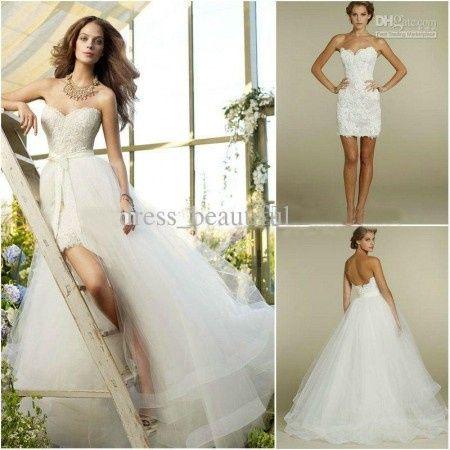 6d790fc5e Vestido de Novia 2 en 1 - Foro Moda Nupcial - bodas.com.mx