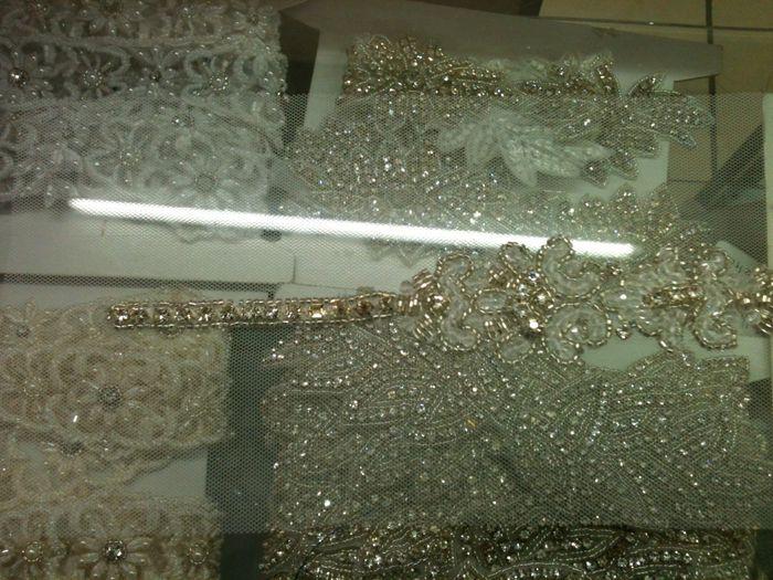 Como hacer aplicaciones para vestidos de noche