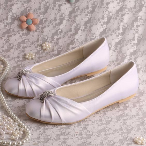 zapatos bajitos para novias - foro moda nupcial - bodas.mx