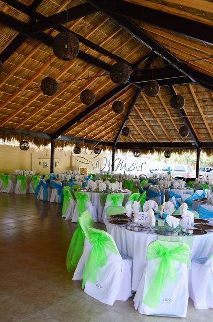 Jard n de fiesta con palapa foro organizar una boda for Decoracion fiesta jardin noche