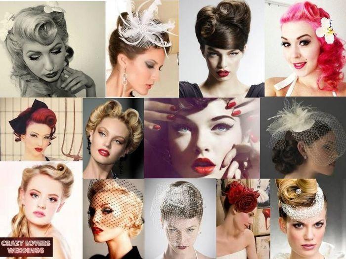aloha chicas pues mi idea de peinado es pin up se me hacen muy elegantes y femeninos ustedes que opinan como sera su peinado - Peinados Pin Up