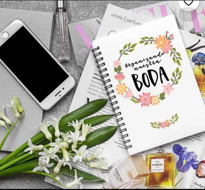 Recomendaciones de planner o agenda de bodas impresa - 1