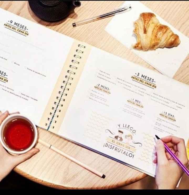 Recomendaciones de planner o agenda de bodas impresa - 2
