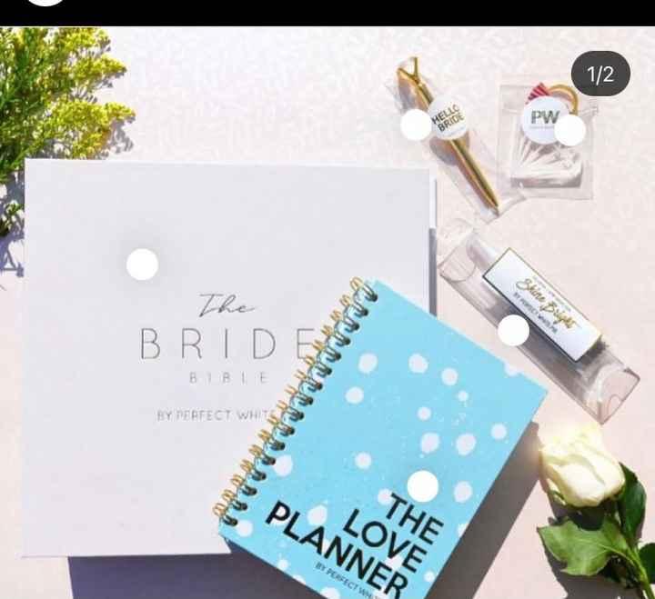 Recomendaciones de planner o agenda de bodas impresa - 3