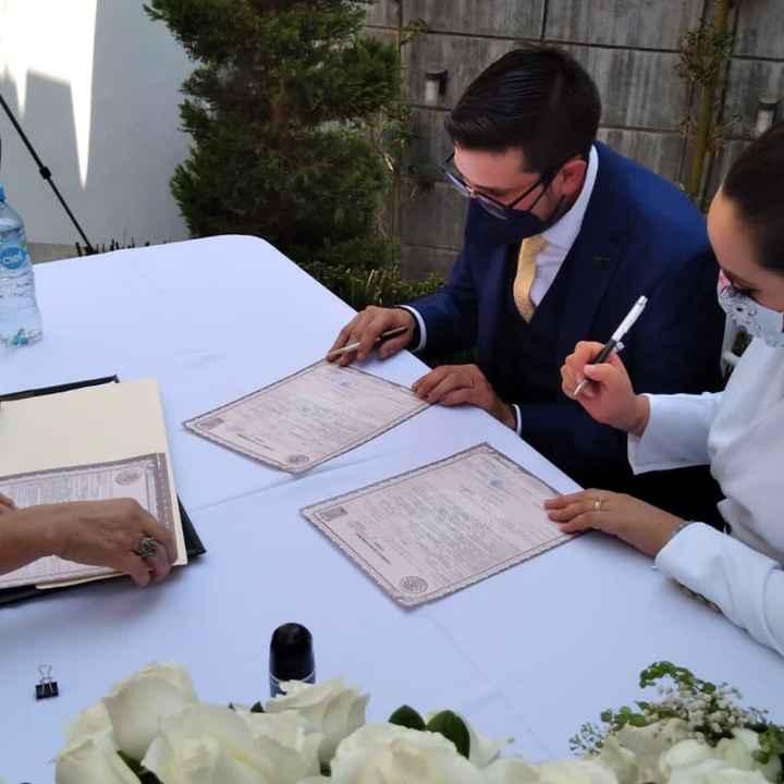Nuestra boda civil!!! - 4