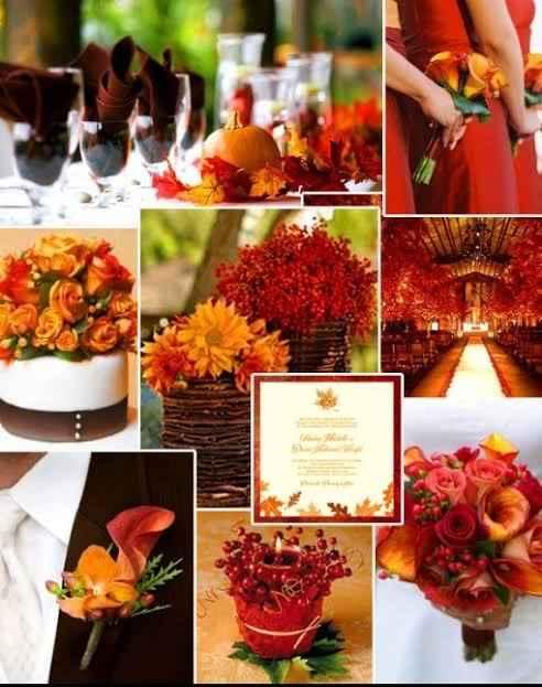 Paleta Pantone Otoño en tu boda - 1