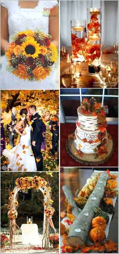 Paleta Pantone Otoño en tu boda - 2