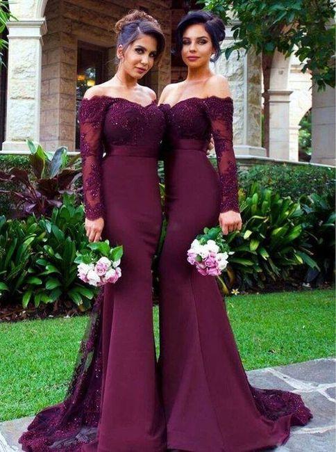 Vestidos Damas Colores Foro Moda Nupcial Bodascommx