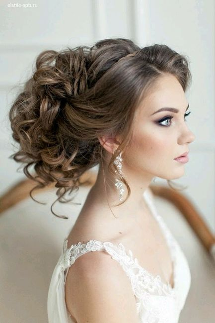 Peinados de novia tipo princesa