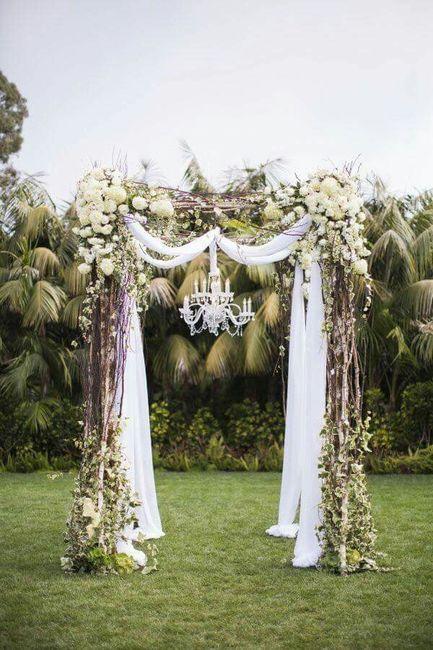 Arcos para jard n foro organizar una boda - Arcos de jardin ...