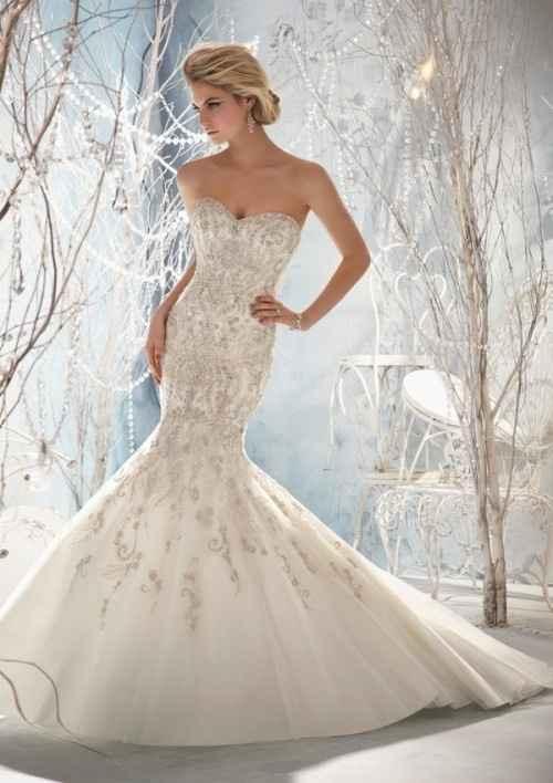 el vestido hermoso