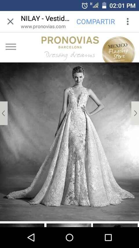 El juego de espectativa vs. realidad - mi vestido de novia - 1