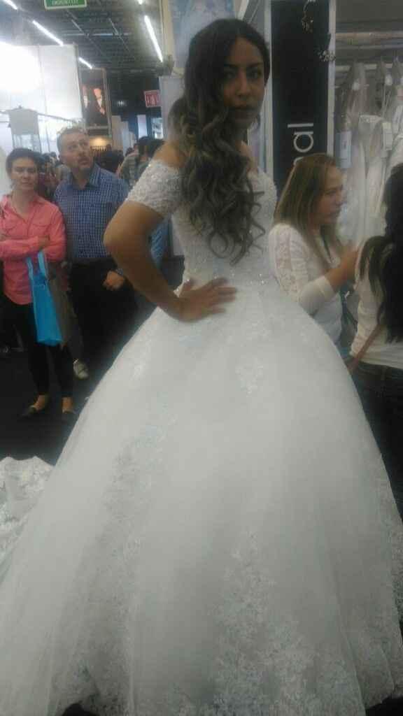 El juego de espectativa vs. realidad - mi vestido de novia - 2