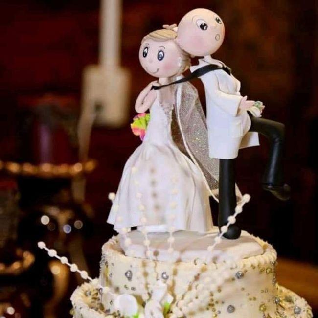 Nuestras figuras del pastel 🎂😜 y recuerditos❤️ 5