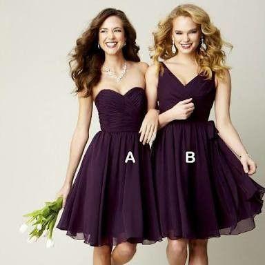 Vestidos para damas de honor df