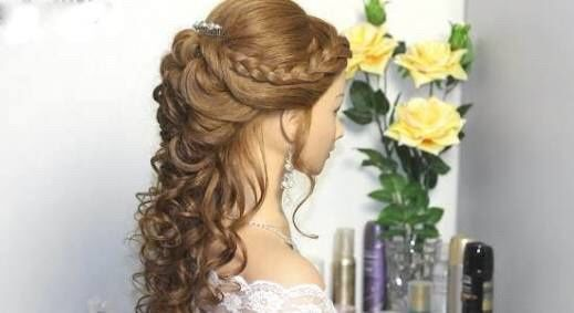 Peinados Semirecogidos Con Trenzas Foro Belleza Bodascommx - Peinado-semirecogido-con-trenza
