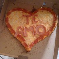 Pizza de corazon