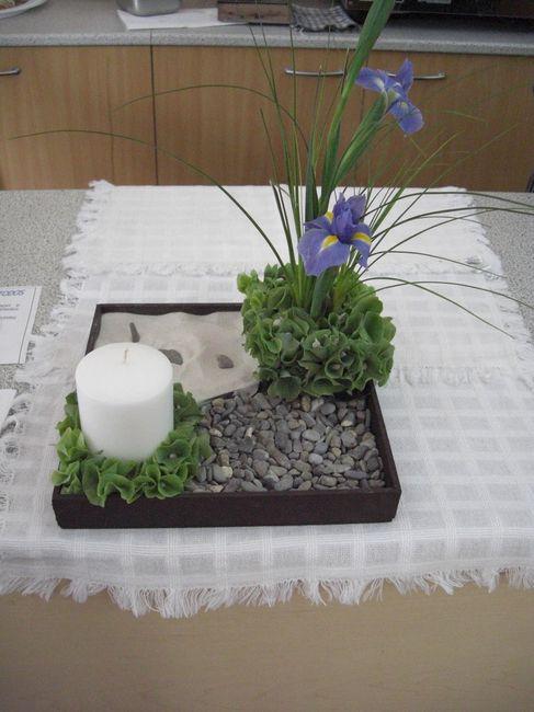 Jardin zen como centro de mesa foro manualidades para for Manualidades para jardin