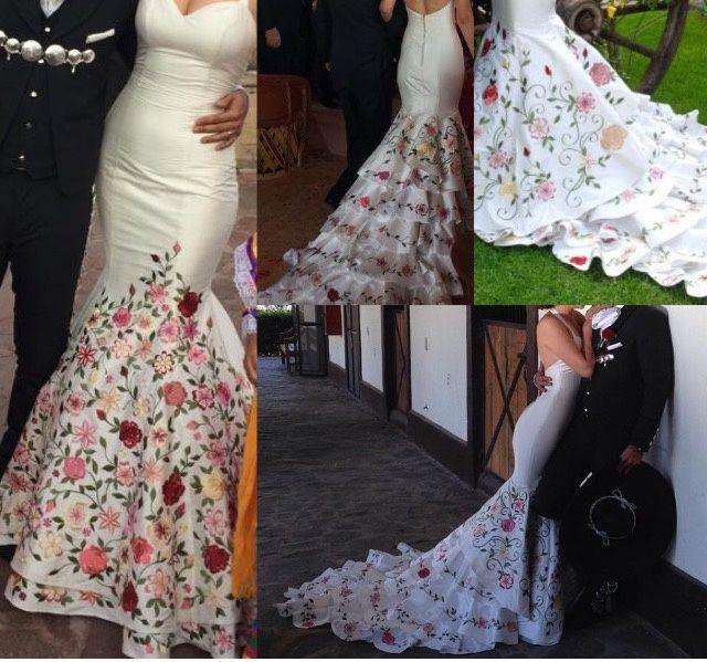 Vestidos de boda tipo charro