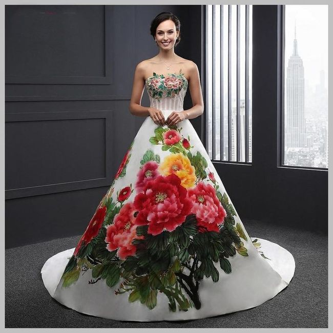 Vestido de novia regional de oaxaca