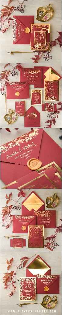 Invitasiones rojas!!!! - 1