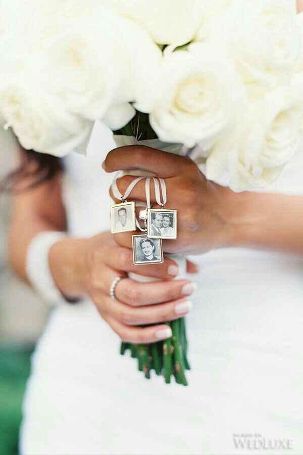 Homenaje en la boda a un ser querido fallecido - 1