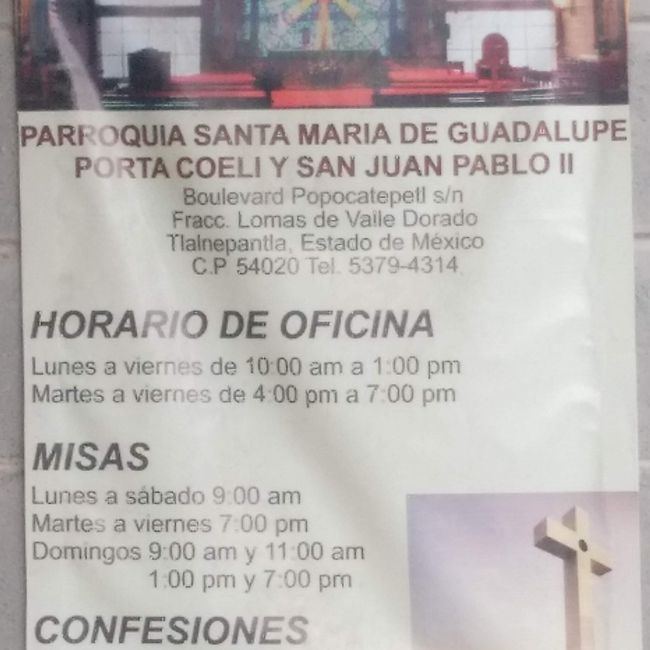 Ayuda para encontrar una iglesia en CDMX ante el problema de contingencia 1