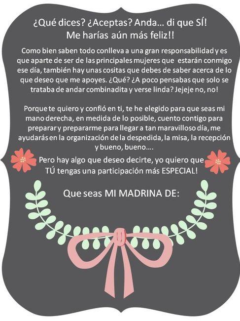 7c1dc990e Invitaciones para madrinas de honor! - Foro Manualidades para bodas ...